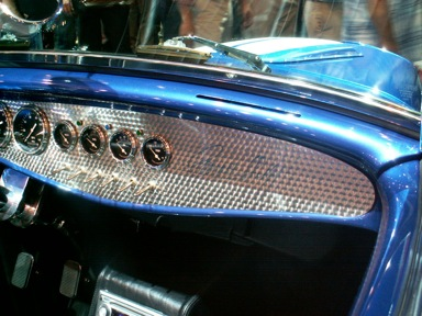 Engine Turning Dash Panels Etc By Jim Clark The Hot Rod