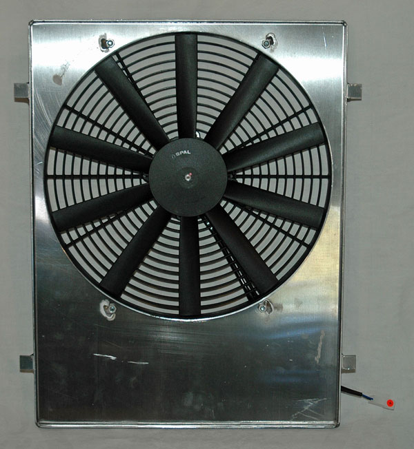 Custom Fitting Your Fan Shroud Photos And Story By Jim
