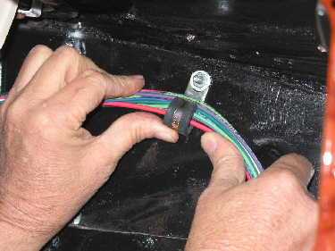 a_Photo_32 painless performance harness installation in '39 ford hotrod hotline wiring harness clamps at aneh.co
