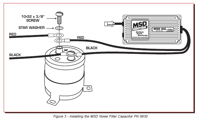 diagram radio frequency interference article by msd ignition hotrod hotline car stereo noise suppressor wiring diagram at mifinder.co