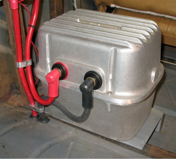 Many Options Are Available When Fabricating A Mount For The Battery Box Important Factors To Consider Placing It In Secure And Accessible